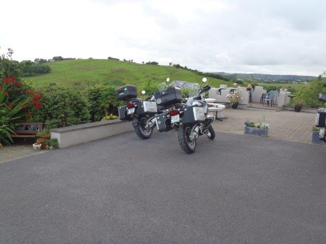 BMW's rode on Ireland Trip